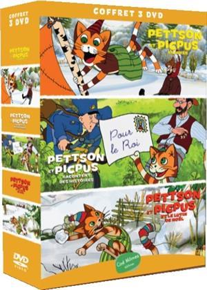 Pettson et Picpus en hiver / Pettson et Picpus racontent des histoires / Pettson et Picpus et le lutin de Noêl (3 DVDs)
