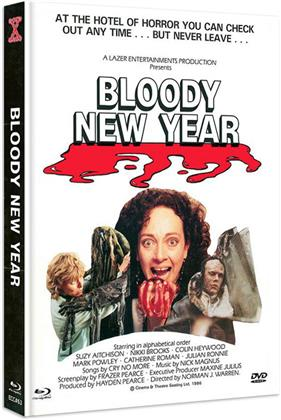 Bloody New Year (1987) (Cover B, Eurocult Collection, Edizione Limitata, Mediabook, Blu-ray + DVD)