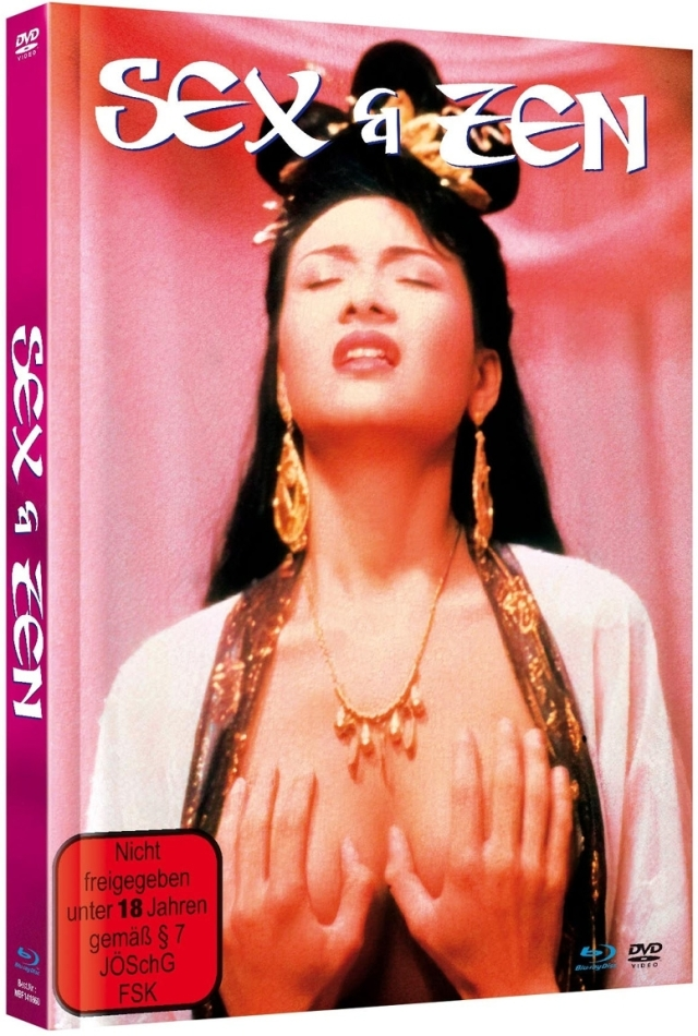 Sex & Zen (1991) (Cover A, Limited Edition, Mediabook, Blu-ray + DVD)