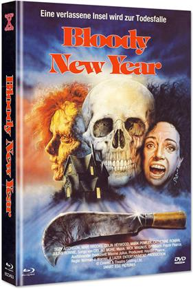 Bloody New Year (1987) (Cover A, Eurocult Collection, Limited Edition, Mediabook, Blu-ray + DVD)