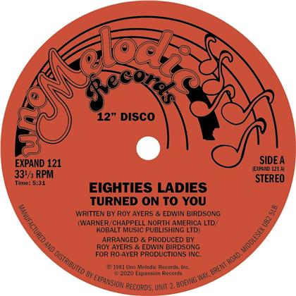 Eighties Ladies - Turned On To You (2020 Reissue, Remastered, LP)