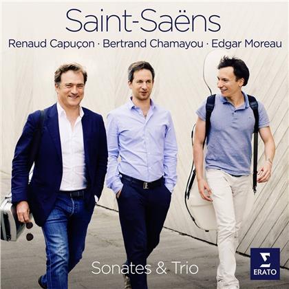 Renaud Capucon, Edgar Moreau, Bertrand Chamayou & Camille Saint-Saëns (1835-1921) - Sonaten und Trio