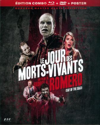 Le jour des morts-vivants - Day of the Dead (1985) (Nouveau Master Haute Definition, Schuber, Digipack, Restaurierte Fassung, Blu-ray + DVD)