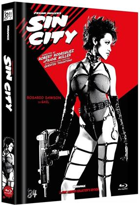 Sin City (2005) (Cover C, Limited Collector's Edition, Mediabook, 2 Blu-rays)