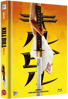 Kill Bill - Vol. 1 & 2 (Cover A, Limited Collector's Edition, Mediabook, 2 Blu-rays)