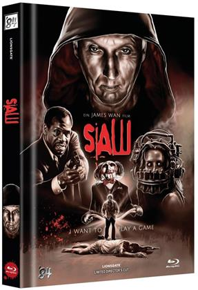 Saw (2004) (Cover B, Director's Cut, Limited Edition, Mediabook)