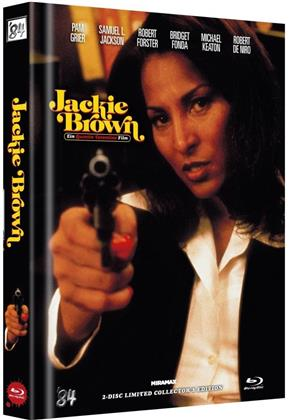 Jackie Brown (1997) (Cover B, Collector's Edition Limitata, Mediabook, Uncut, Blu-ray + DVD)
