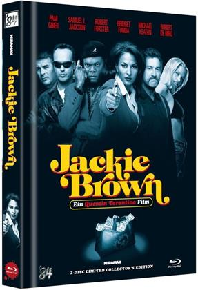 Jackie Brown (1997) (Cover C, Limited Collector's Edition, Mediabook, Uncut, Blu-ray + DVD)