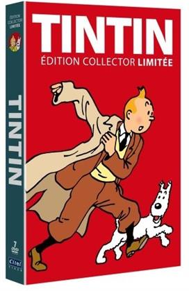Tintin - L'intégrale - 21 aventures (Limited Collector's Edition, 7 DVDs)