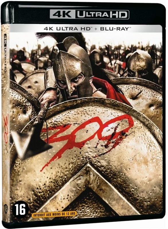 300 (2006) (4K Ultra HD + Blu-ray)