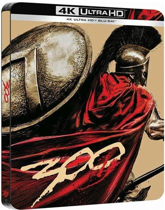 300 (2006) (Limited Edition, Steelbook, 4K Ultra HD + Blu-ray)