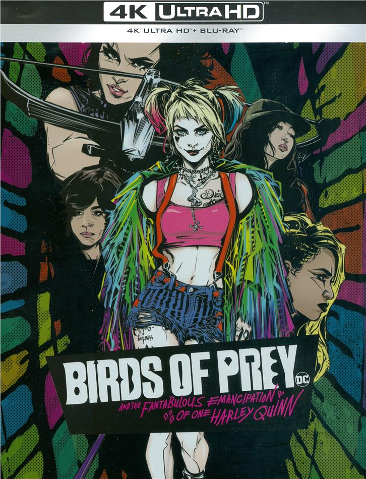 Birds of Prey - And the Fantabulous Emancipation of One Harley Quinn (2020) (Comic Cover, Limited Edition, Steelbook, 4K Ultra HD + Blu-ray)