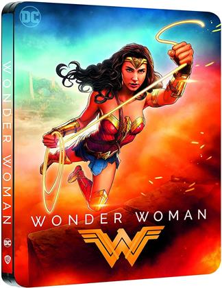 Wonder Woman (2017) (Comic Cover, Edizione Limitata, Steelbook, 4K Ultra HD + Blu-ray)
