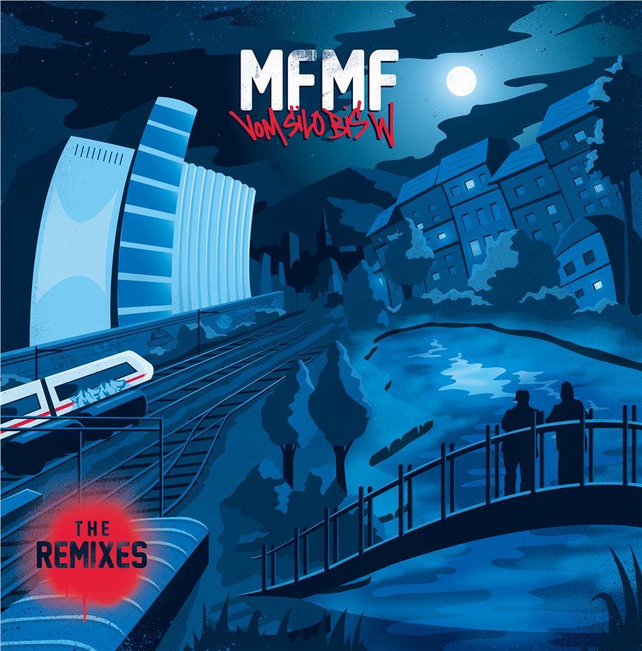 """MFMF - Vom Silo bis W """"The Remixes"""" (140 Gramm, Limited To 300 Copies, Splatter Vinyl, LP)"""