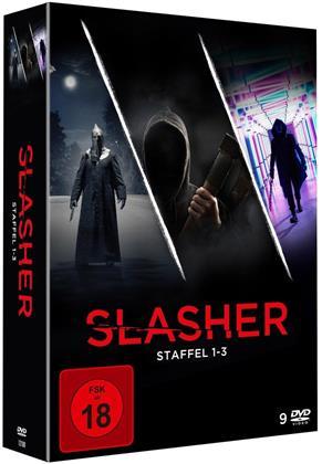 Slasher - Staffel 1-3 (9 DVDs)
