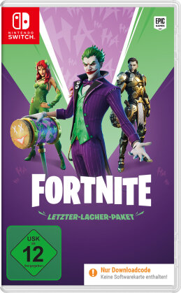 Fortnite: The Last Laugh Bundle - (Code in a Box) (German Edition)