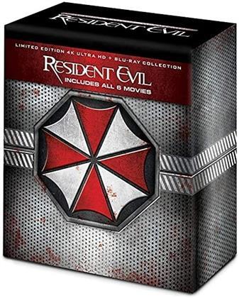 Resident Evil 1-6 (6 4K Ultra HDs + 6 Blu-rays)