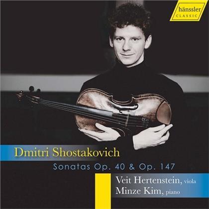 Dimitri Schostakowitsch (1906-1975), Veit Hertenstein & Minze Kim - Sonatas 40 & 147