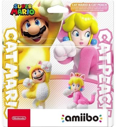 Amiibo - Mario Chat et Peach Chat