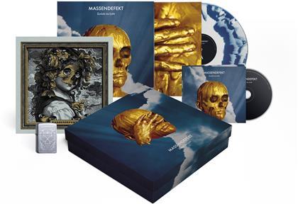 Massendefekt - Zurück Ins Licht (Boxset, Blue/White Vinyl, LP + CD)