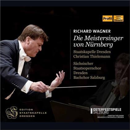 Bachchor Salzburg, Richard Wagner (1813-1883), Christian Thielemann & Staatskapelle Dresden - Die Meistersinger Von Nürnberg (4 CDs)