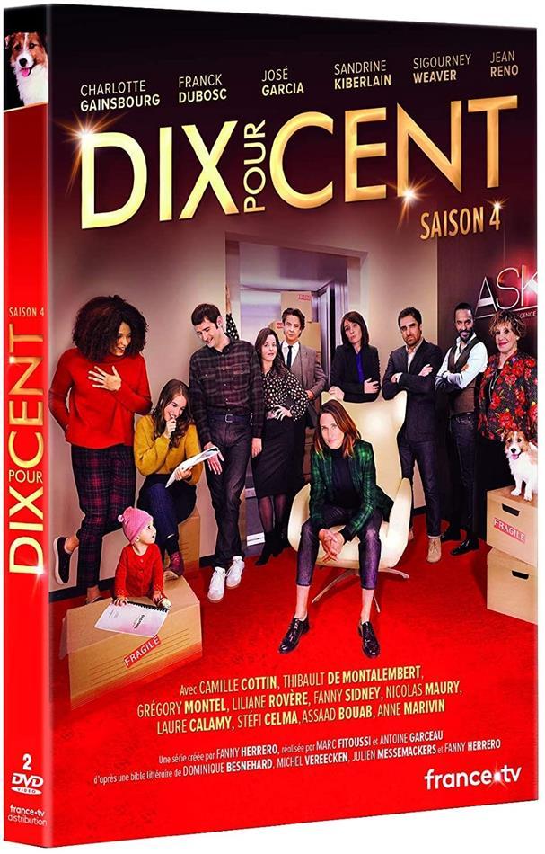 Dix pour cent - Saison 4 (2 DVDs)