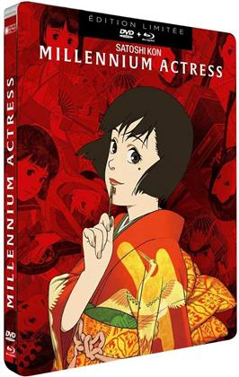 Millennium Actress (2001) (Limited Edition, Steelbook, Blu-ray + DVD)