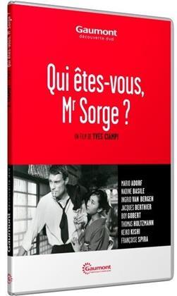 Qui êtes-vous, Mr Sorge ? (1961) (Collection Gaumont Découverte)