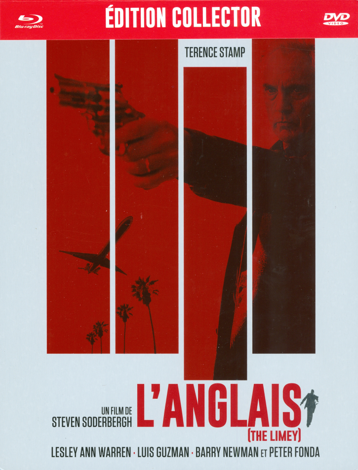 L'anglais - The Limey (1999) (Nouveau Master Haute Definition, Collector's Edition, Limited Edition, Restaurierte Fassung, Steelbook, Blu-ray + DVD)