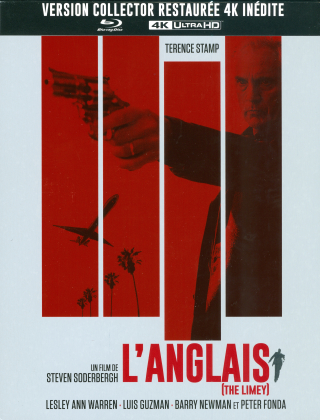 L'anglais - The Limey (1999) (Nouveau Master Haute Definition, Version inédite, Collector's Edition, Limited Edition, Restaurierte Fassung, Steelbook, 4K Ultra HD + Blu-ray)