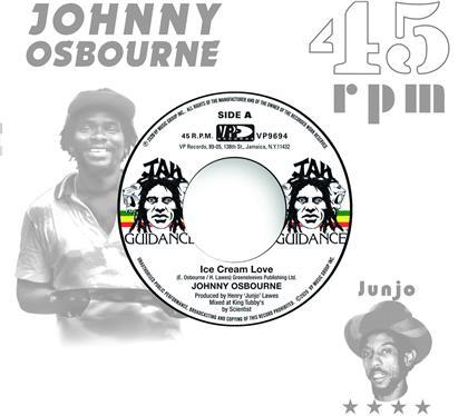 "Johnny Osbourne & Roots Radics - Ice Cream Love / Extra Time One (7"" Single)"