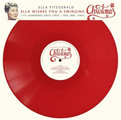 Ella Fitzgerald - Wishes You A Swinging Christmas (2020 Reissue, Red Vinyl, LP)
