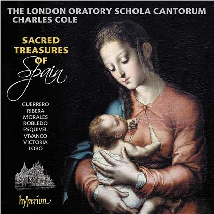 London Oratory Schola Cantorum & Charles Cole - Sacred Treasures Of Spain