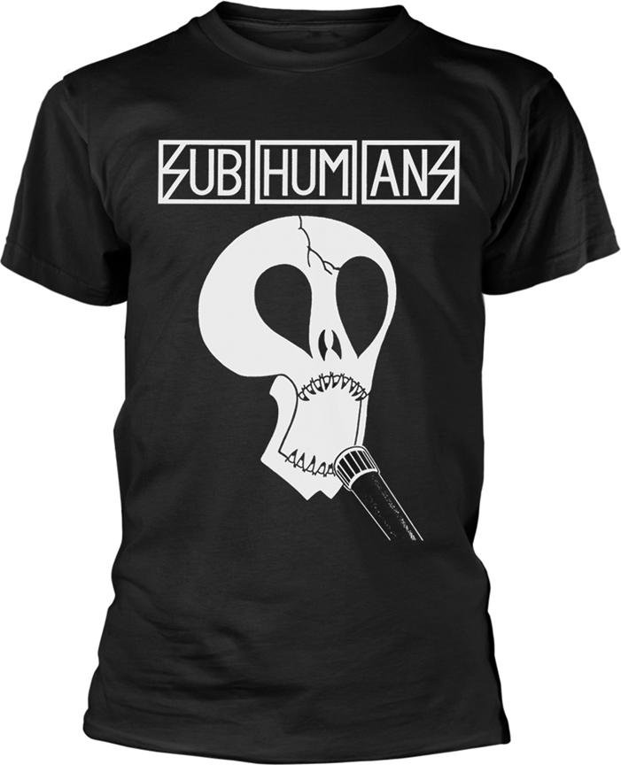 Subhumans - Skull - Grösse XXL