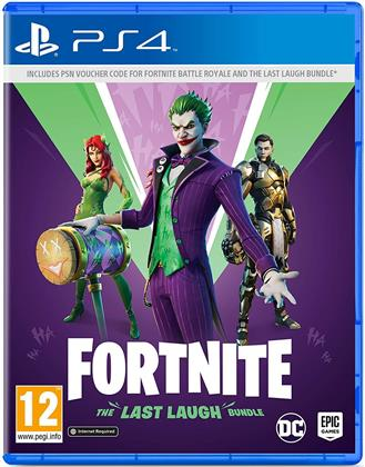 Fortnite: The Last Laugh Bundle - (Code in a Box)