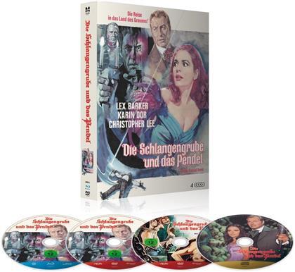 Die Schlangengrube und das Pendel (1967) (Deluxe Edition, Limited Edition, Mediabook, Blu-ray + 2 DVDs + CD)