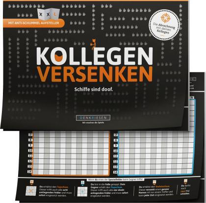 "KOLLEGEN VERSENKEN - ""Schiffe sind doof"" - Schiffe versenken neu aufgelegt"