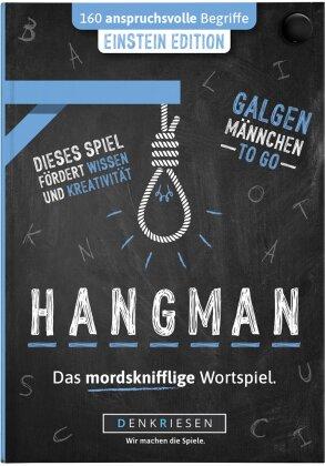 """HANGMAN - EINSTEIN EDITION - """"Galgenmännchen TO GO"""""""