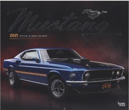 Mustang 2021 - 18-Monatskalender
