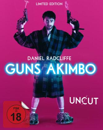 Guns Akimbo (2019) (Limited Edition, Mediabook, Uncut, Blu-ray + DVD)