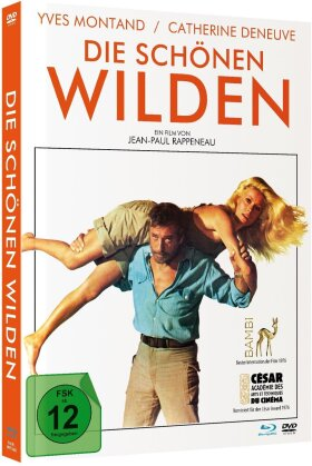 Die schönen Wilden (1975) (Limited Edition, Mediabook, Blu-ray + DVD)