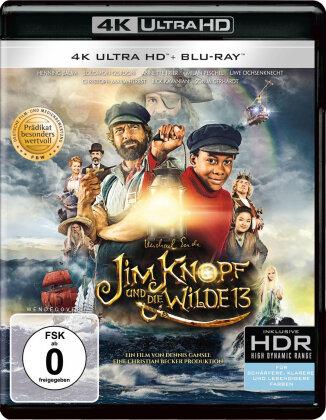 Jim Knopf und die Wilde 13 (2020) (4K Ultra HD + Blu-ray)