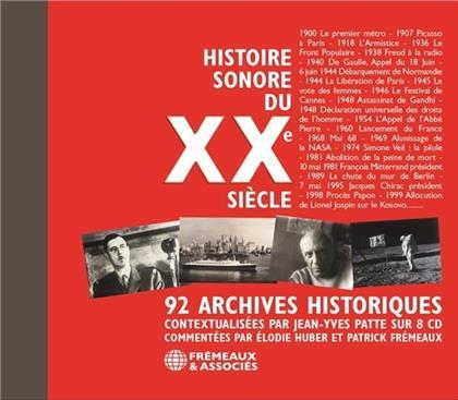 Histoire Sonore Du XXe Siècle - 92 Archives Historiques (8 CDs)