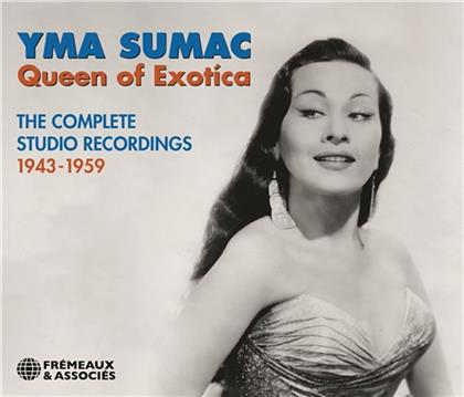 Yma Sumac - Queen Of Exotica (4 CDs)