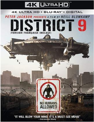 District 9 (2009) (4K Ultra HD + Blu-ray)
