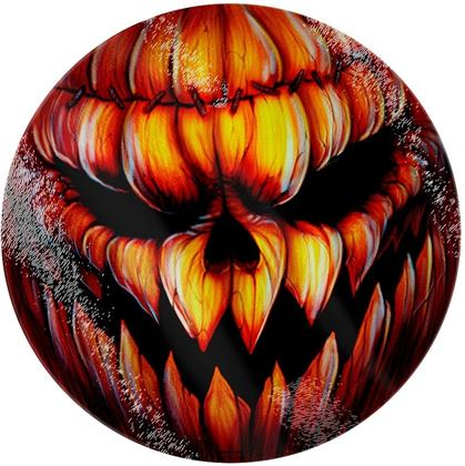 Evil Pumpkin Face - Chopping Board