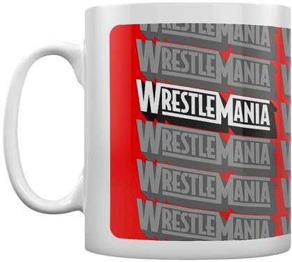 WWE: Wrestlemania Retro Logo - Coffee Mug