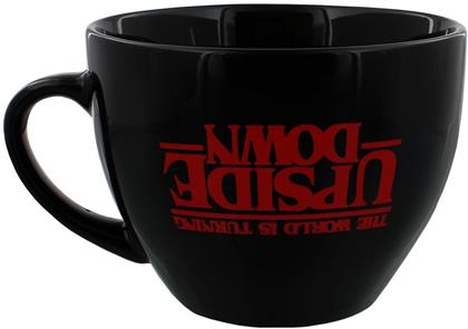 Stranger Things: The World Is Turning Upside Down - Cappuccino Mug