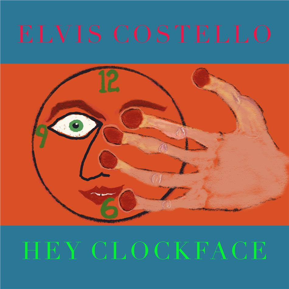 Elvis Costello - Hey Clockface (Exklusiv CeDe.ch, Limited Edition, Red Transparent Vinyl, LP)