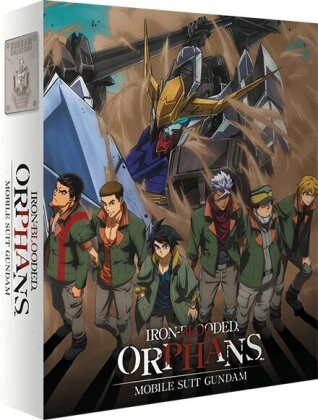 Mobile Suit Gundam: Iron-Blooded Orphans - Partie 1 (4 Blu-ray)